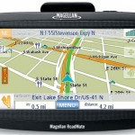 Magellan 1400 series widescreen GPS with traffic