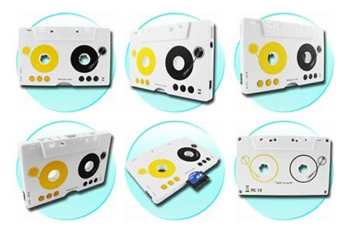 MP3 player looks & acts like a cassette