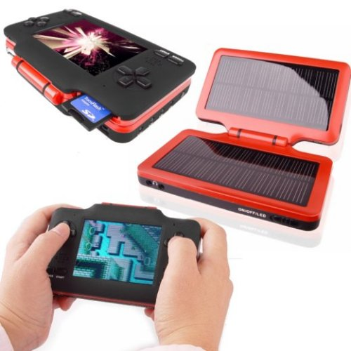 Solar powered handheld Nintendo emulator