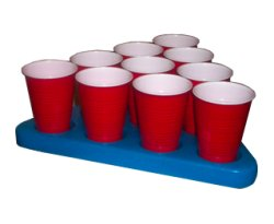 N-Ice Beer Pong Rack for a chill game