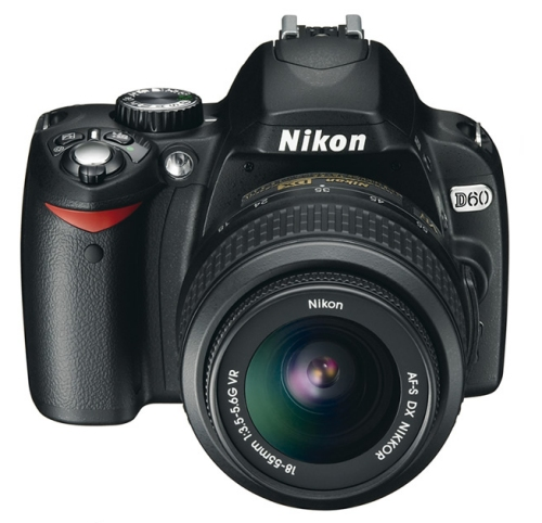Nikon D60 10.2 megapixel Digital SLR Camera