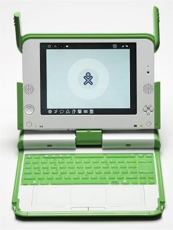 OLPC laptop will be offered to students in the United States