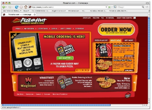 Pizza Hut Total Mobile Access