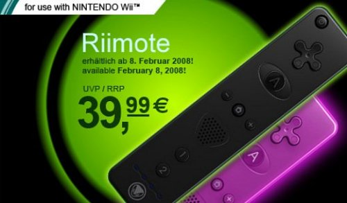 Wiimotes get colorful