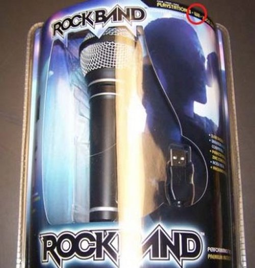 Rock Band Mic