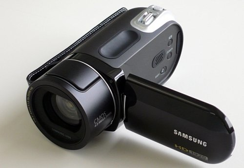 Samsung's new SC-HMX20C flash-based camcorder