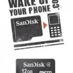 SanDisk ups microSDHC capacity to 12GB