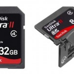 SanDisk rolls out 32GB SDHC and 8GB Plus card