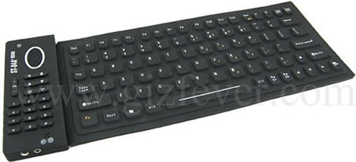 Flexible keyboard & Skype dial pad with USB Hub