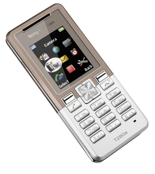 Sony Ericsson launched the T280 and T270 mobile phones sporting some style