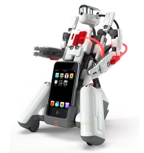 Spykee Cell Bluetooth Robot