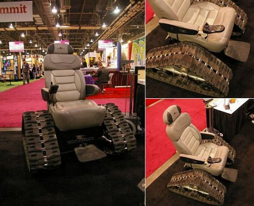 $15,000 Tank Chair for the disabled