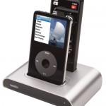 Tekkeon NavDock for iPod has on-TV menu