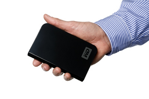 Western Digital 320GB Passport Essential USB hard drive