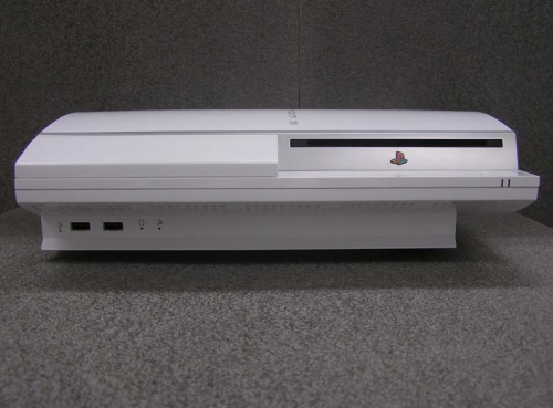 White PS3 from Sony approved for release in the U.S. by the FCC