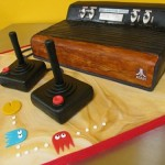 The Atari 2600 cake looks retro delicious