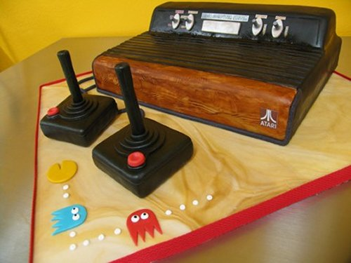 Atari 2600 cake