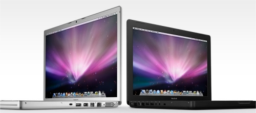 Apple updates the MacBook and MacBook Pro with multi-touch and Penryn processors