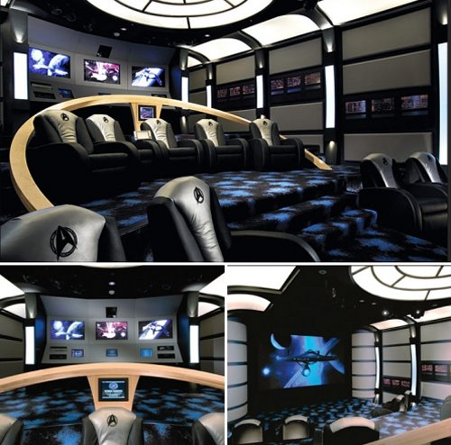 15 Coolest Geek-themed Home Theaters