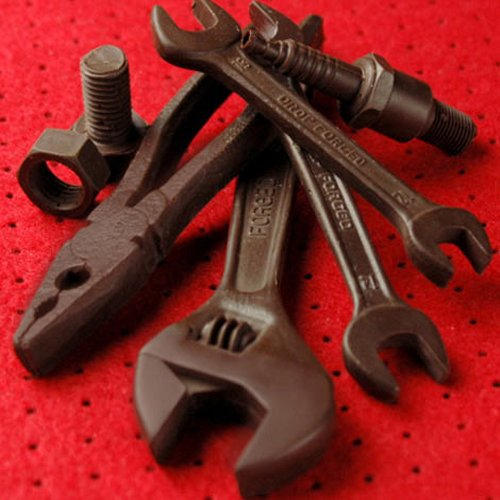 Automania chocolate tools for Valentine's Day