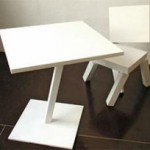 Abstract dinette: this is your furniture on drugs