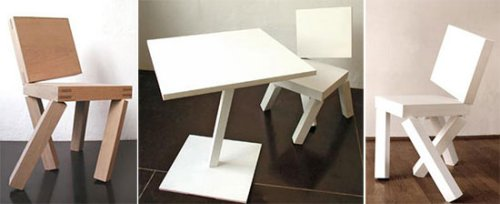 Abstract dinette