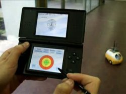 Nintendo DS + robot = awesome