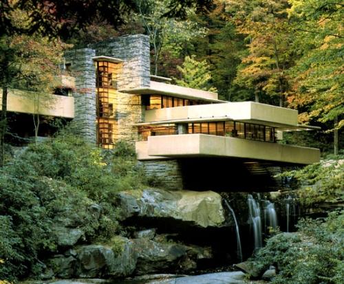 Frank Lloyd Wright's FallingWater house