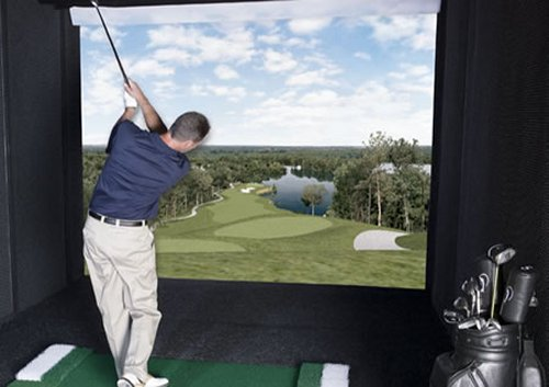 Golf simulator is amazing & expensive