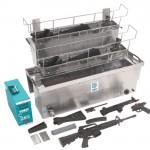 Dishwasher for guns won't give you a clean shot