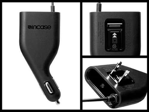 Incase 2-in-1 auto and wall charger for the iPhone and iPod