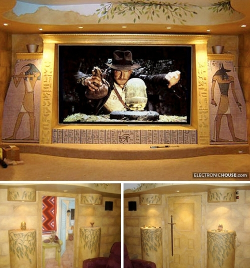 The Indiana Jones home theater