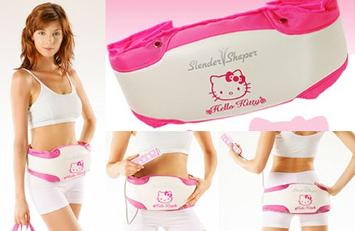 Burn belly fat Hello Kitty style