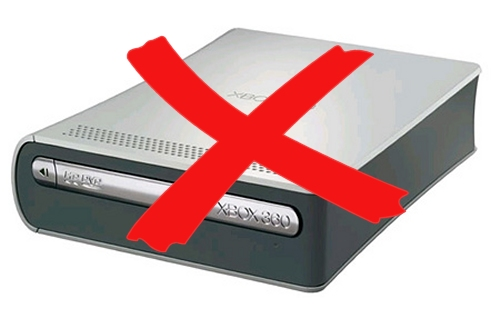 Microsoft discontinued the HD DVD player for the Xbox 360