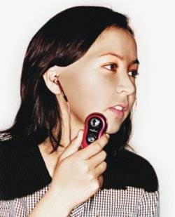 mpion: the MP3 player that fights acne