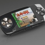 MyRacer portable console plays flash games