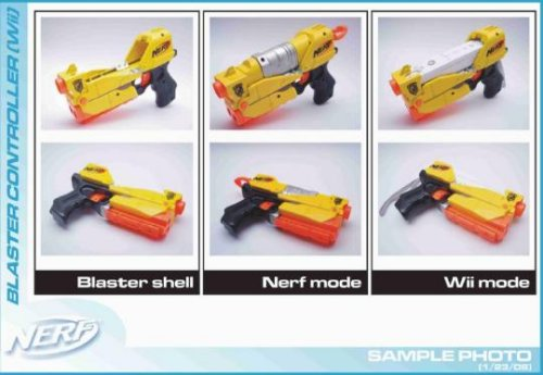 Nerf Wii Blaster
