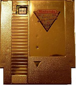 Gold Nintendo cartridge on eBay up to $15,000