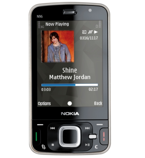 Nokia N96 multimedia computer mobile phone