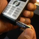 Philips 9@9j has a AAA backup battery