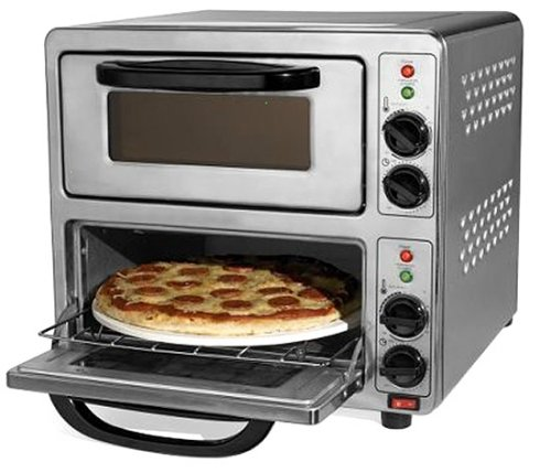 Dual Pizza Oven In 90 Seconds Or Less