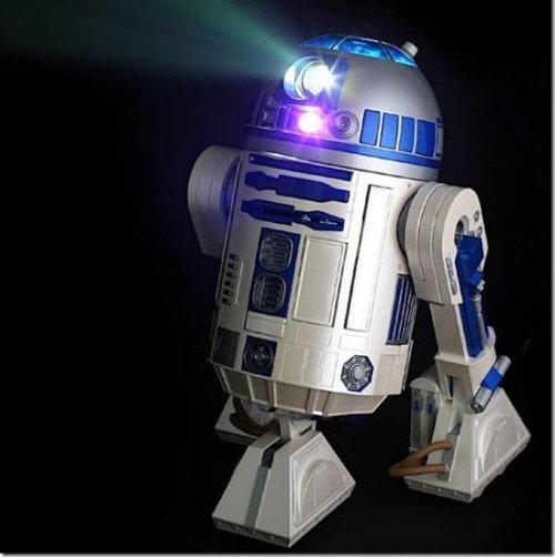 R2-D2 video projector