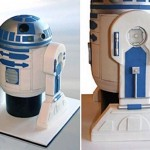 R2-D2 cake: There's always room for droids