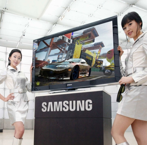 Samsung launches new 3D plasma TVs targeting gaming