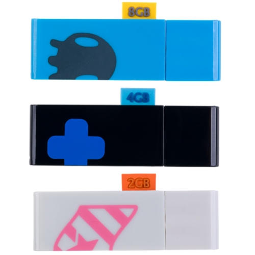 SanDisk Cruzer Tag USB drives with stylish designs