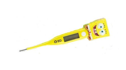 Musical SpongeBob digital thermometer