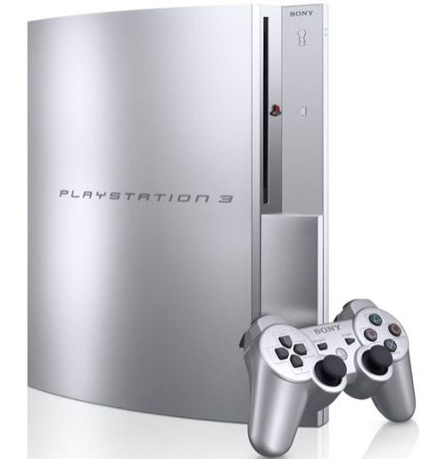 Satin Silver Playstation 3 in Japan