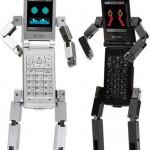 Toshiba's 815T PB on Softbank robot phone