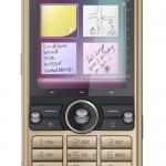 Sony Ericsson G700 compact touchscreen phone