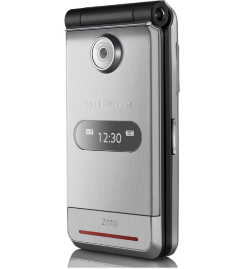 Sony Ericsson Z770 clamshells style mobile phone